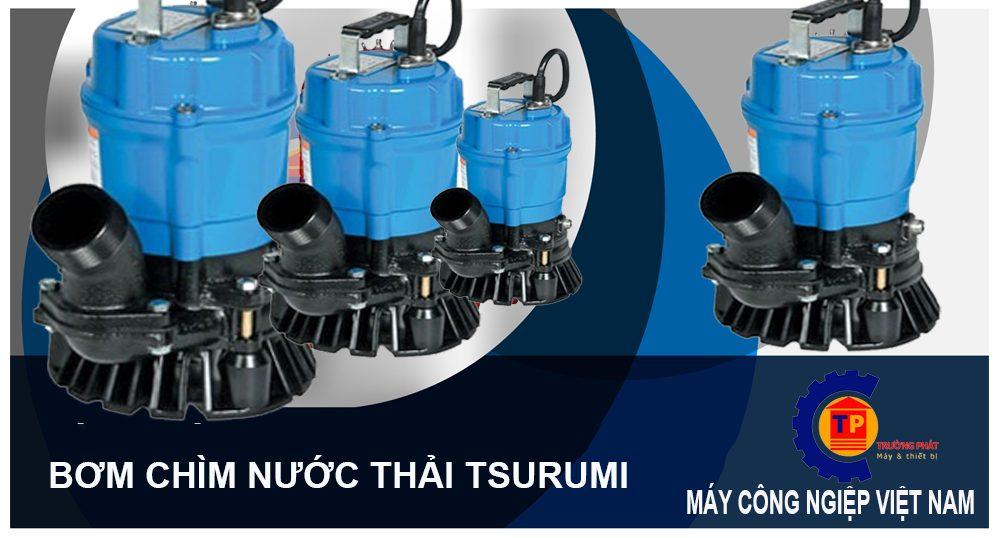 Máy Bơm Hố Móng Tsurumi HS2.4S-62