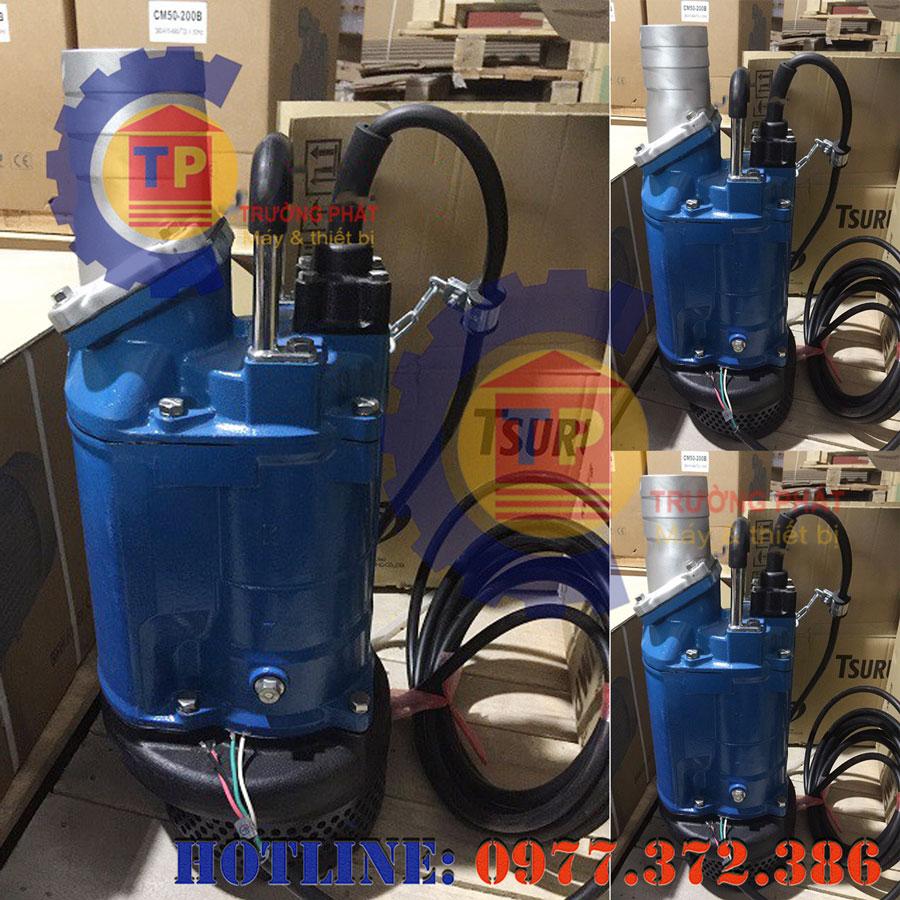 Cấu tạo và nguyên lý hoạt động của máy bơm nước thải Tsurumi